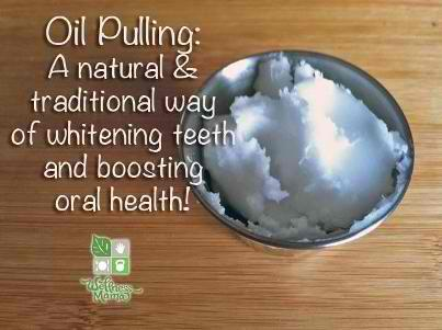 How To Whiten Teeth With Oil Pulling