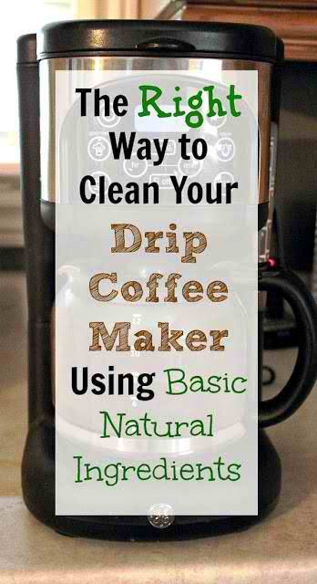How to Correctly Clean Your Drip Coffee Maker