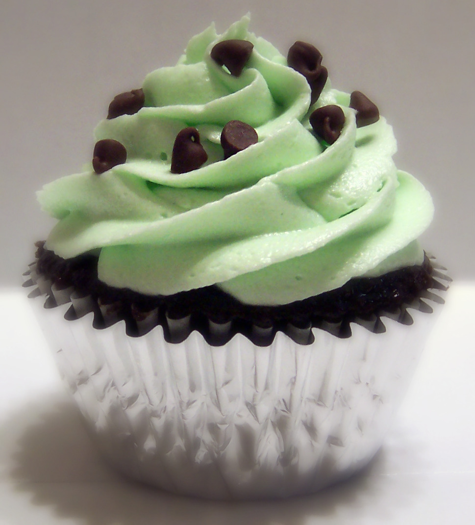 Mint Chocolate Cupcake Recipe