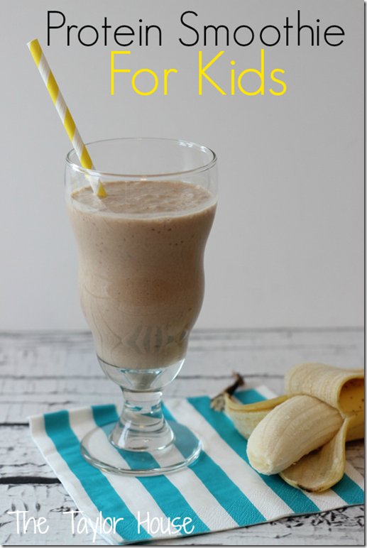 PROTEIN SMOOTHIE FOR KIDS