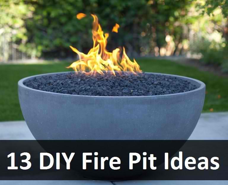 13 DIY Fire Pit Ideas