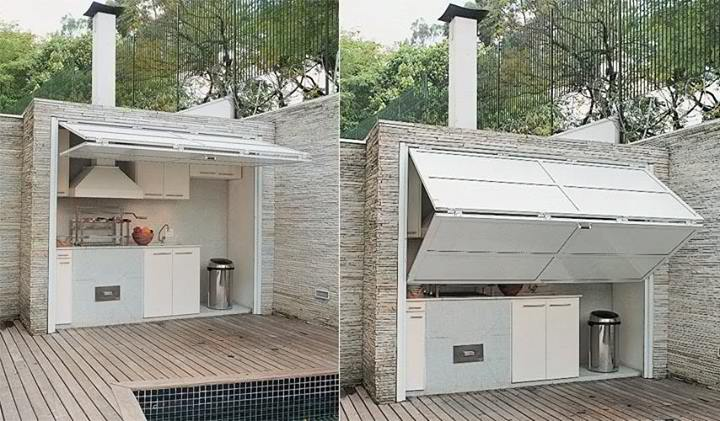 14 Smart Outdoor Kitchen Ideas