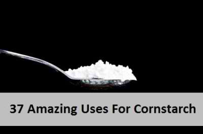 37 Amazing Uses For Cornstarch