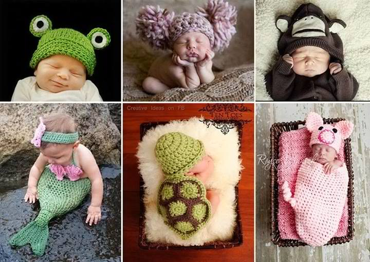 Adorable Crochet Baby Outfits and Accessories