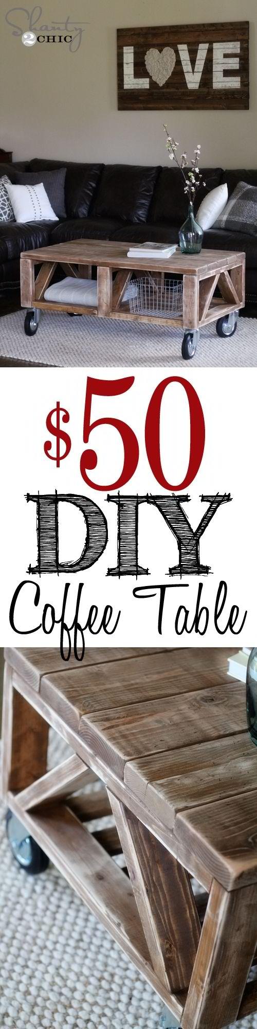 Coffee Table DIY