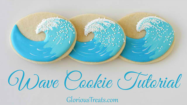 DIY Wave Cookies