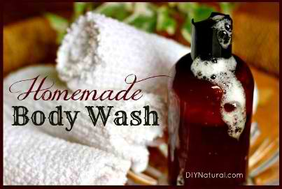 How To Make A Natural Moisturizing Body Wash
