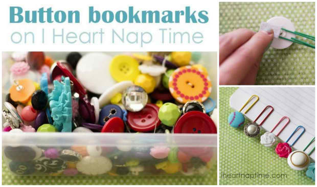 How To Make Button Bookmarks