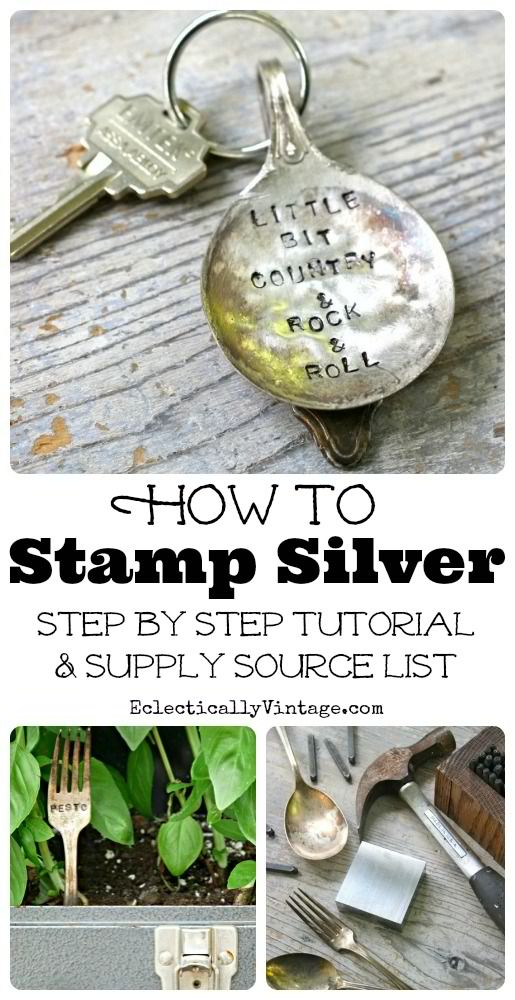 How to Stamp Silverware