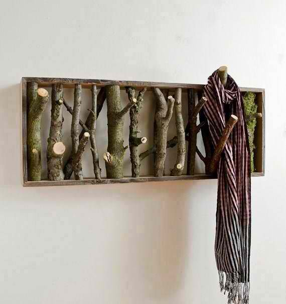 Rustic Coat Hanger Tutorial