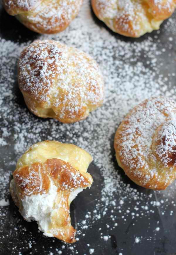 The Fluffiest Cream Puff Recipe