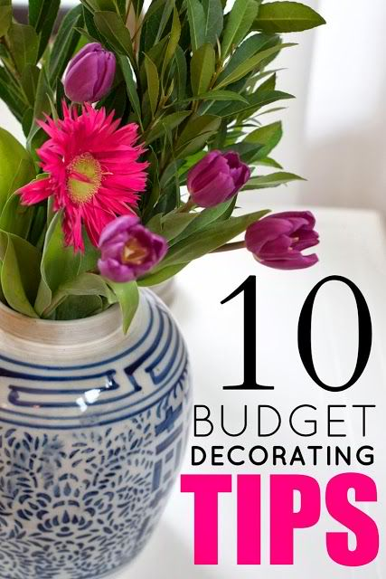 10 Budget Decorating Tips