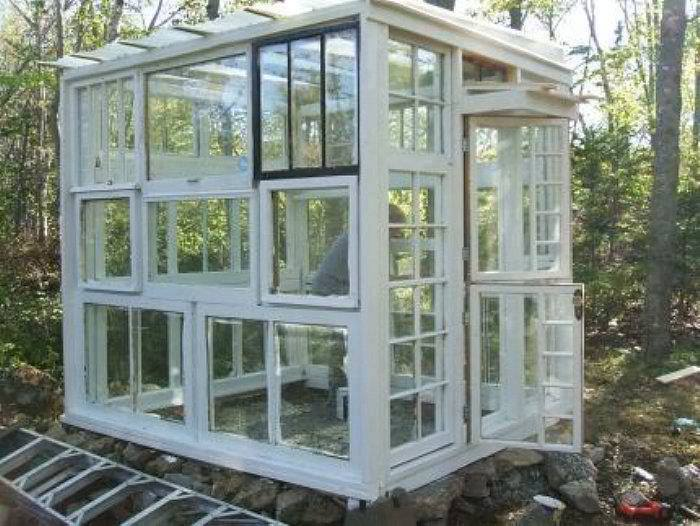 33 Greenhouses Built From Old Windows