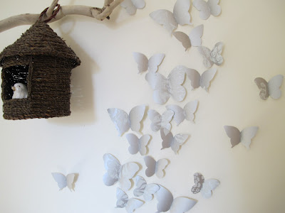 3D butterfly wall decoration