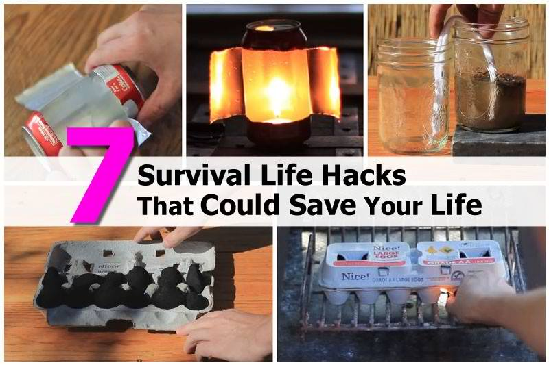 7 Life Saving Survival Hacks