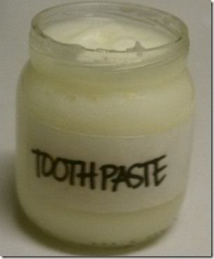 All Natural Toothpaste Recipe using Coconut Oil and Essential Oils