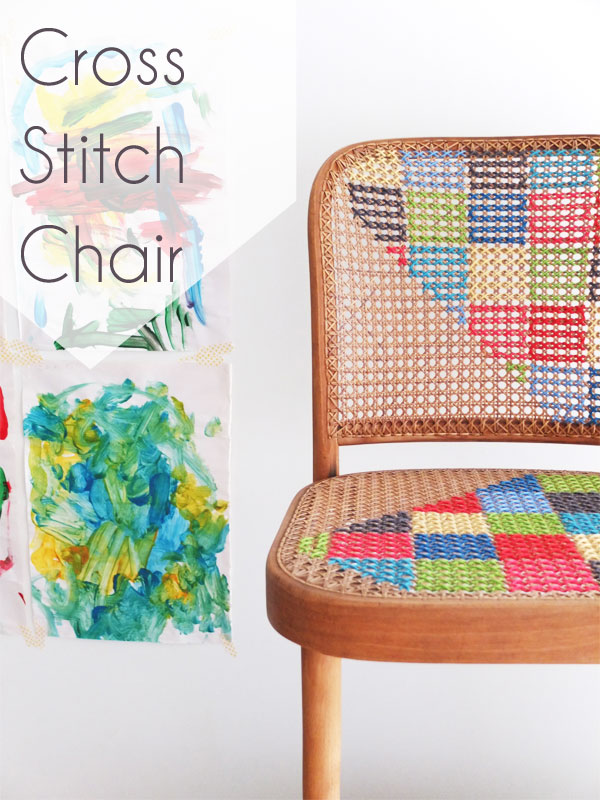 Cross Stitch Chair