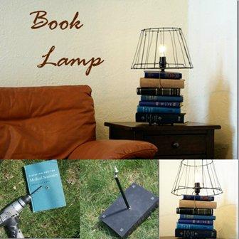 DIY Book Lamp