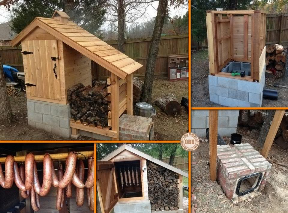 DIY Cedar Smokehouse
