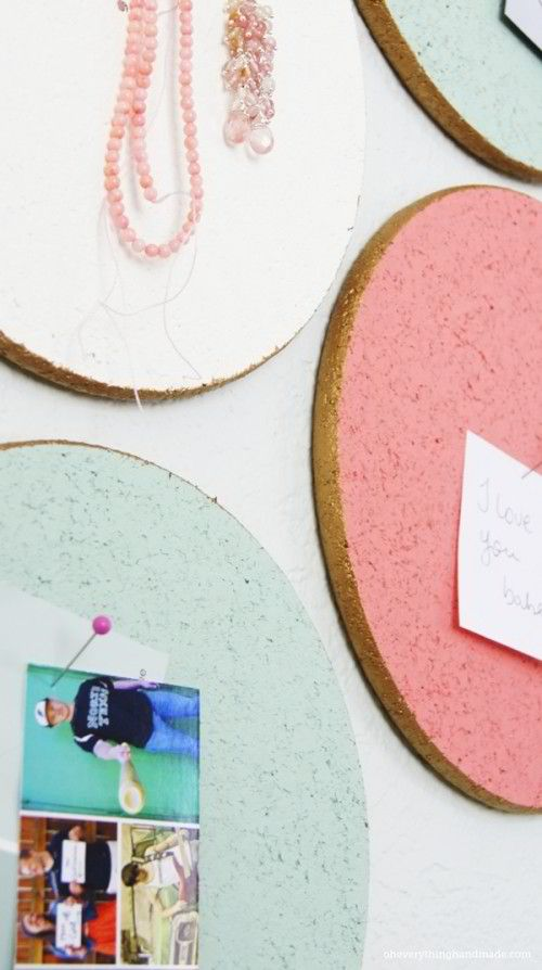 DIY Custom Cork Board