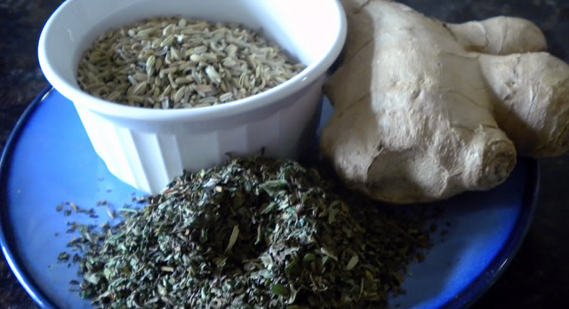DIY Herbal Digestion Remedy
