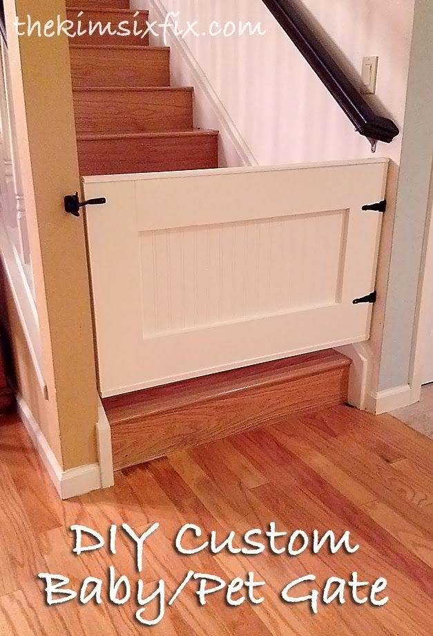 Easy Custom DIY Baby Gate