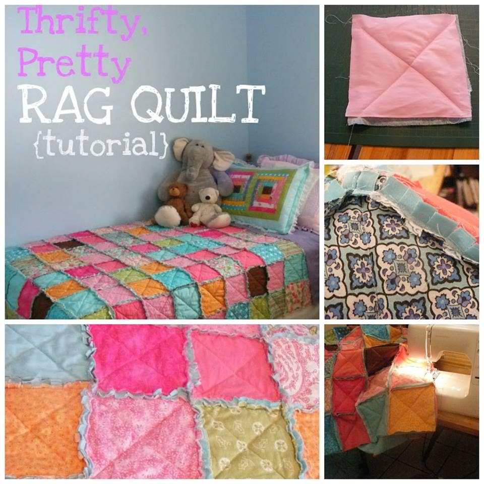 Easy Rag Quilt Tutorial