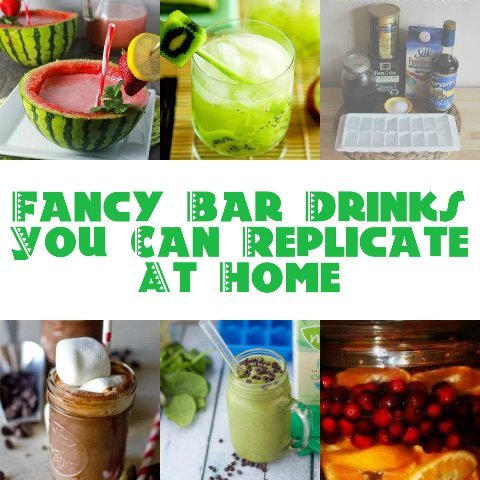 Fancy Bar Drinks You Can Replicate At Home