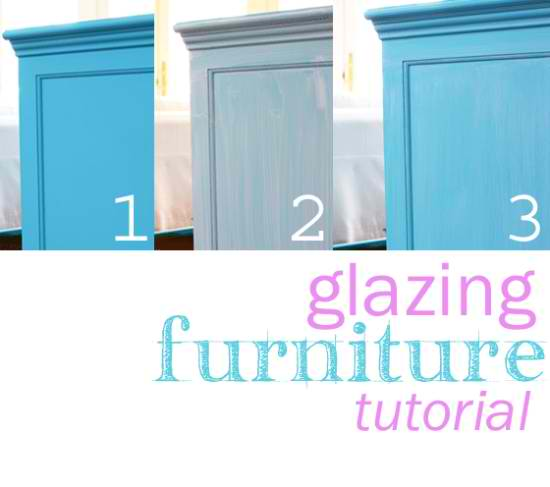 Glazing Furniture Tutorial