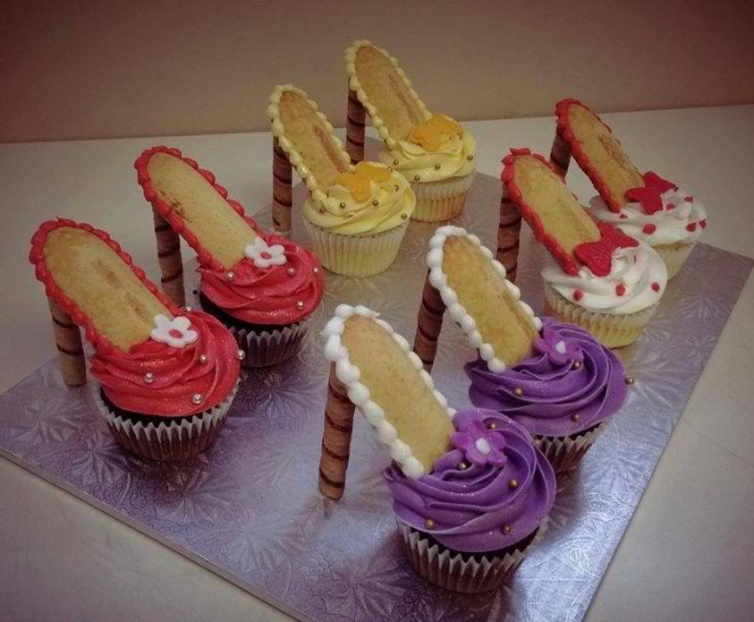 High Heel Cupcakes Tutorial