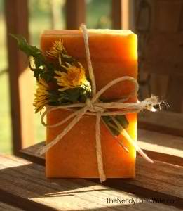 Honey And Dandelion Soap Recipe