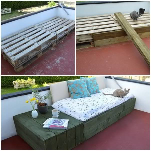 How To Build A Pallet Day Bed