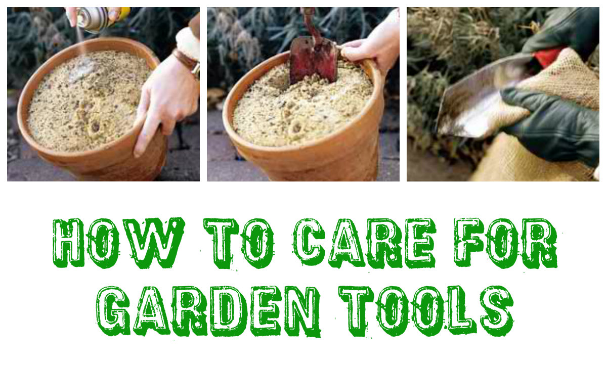 How to Care for Garden Tools