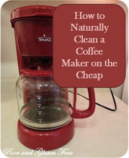 How to Clean A Coffee Maker, Naturally and on the Cheap