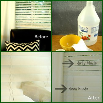 How to Clean Dirty Blinds