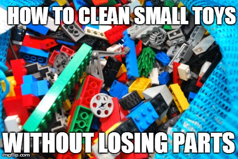 How to Clean Small Toys