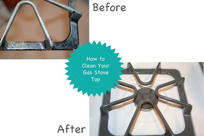 How to Clean Your Gas Range Stove Top