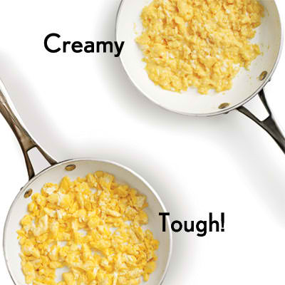How to Cook Your Scrambled Egg Right