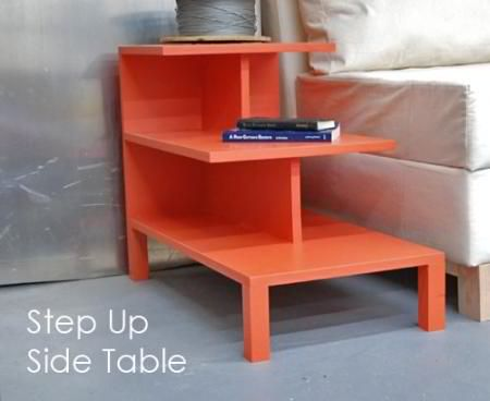 How to Make A Step Up Side Table