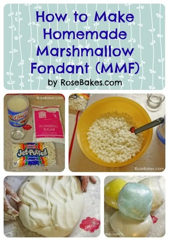 How to Make Homemade Fondant