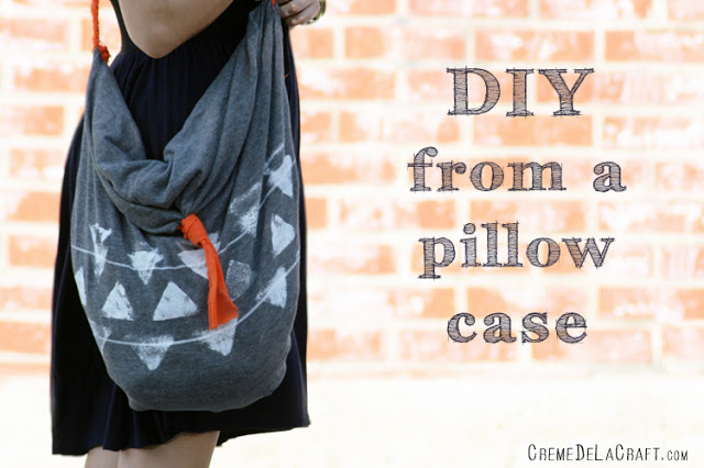 How to Make a New Bag Out of an Old Pillow Case