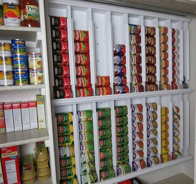 Rotating Canned Food System