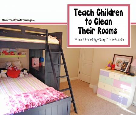Teach Children to Clean Their Rooms