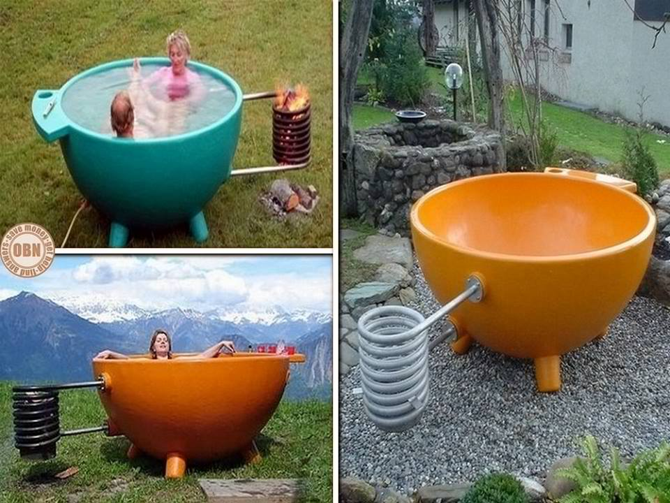 "The Innovative ""Dutch Tub"" Hot Tub"