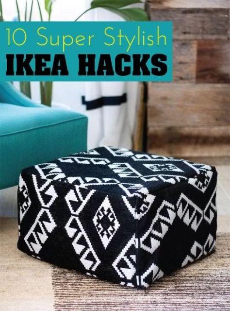 10 Super Stylish IKEA Hacks & DIY Projects