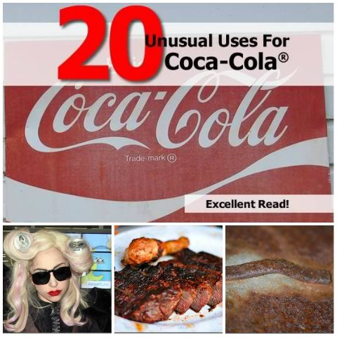 20 Bizarre Uses For Coca-Cola