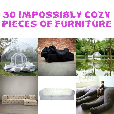 30 Impossibly Cozy Pieces Of Furniture
