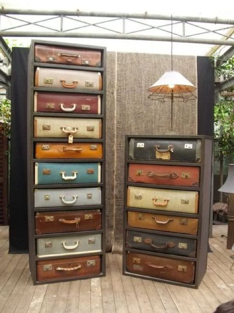 A Surprising New Use For Old Suitcases