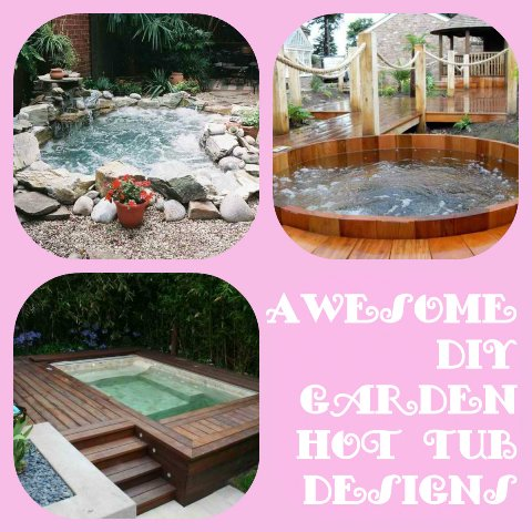 Hot tub designs