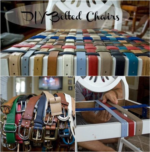 DIY Belted Chair Tutorial